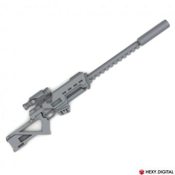 Futuristic Sniper Rifle