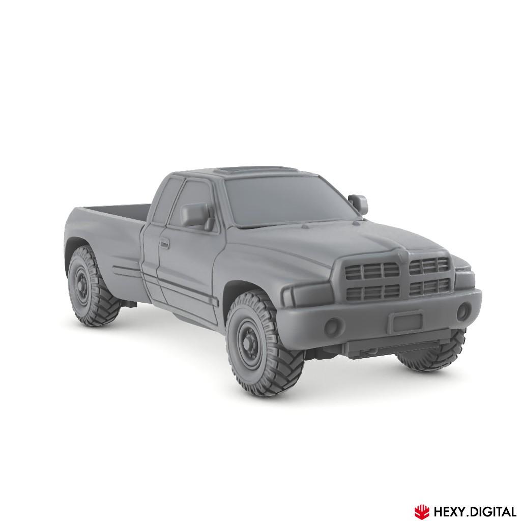 Pickup Vehicle