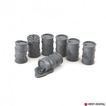 Metal Barrel Set