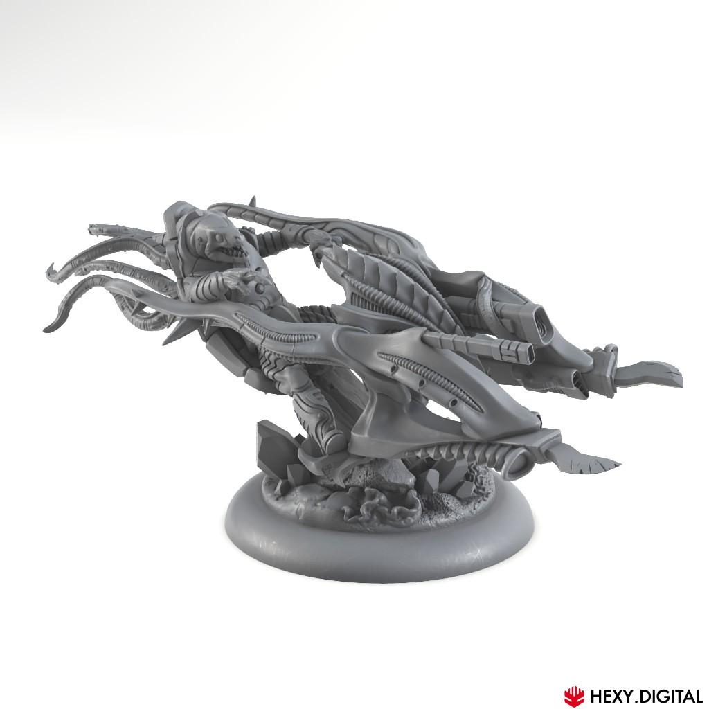 Hy'drans - Mu'Ren Reaver Rider
