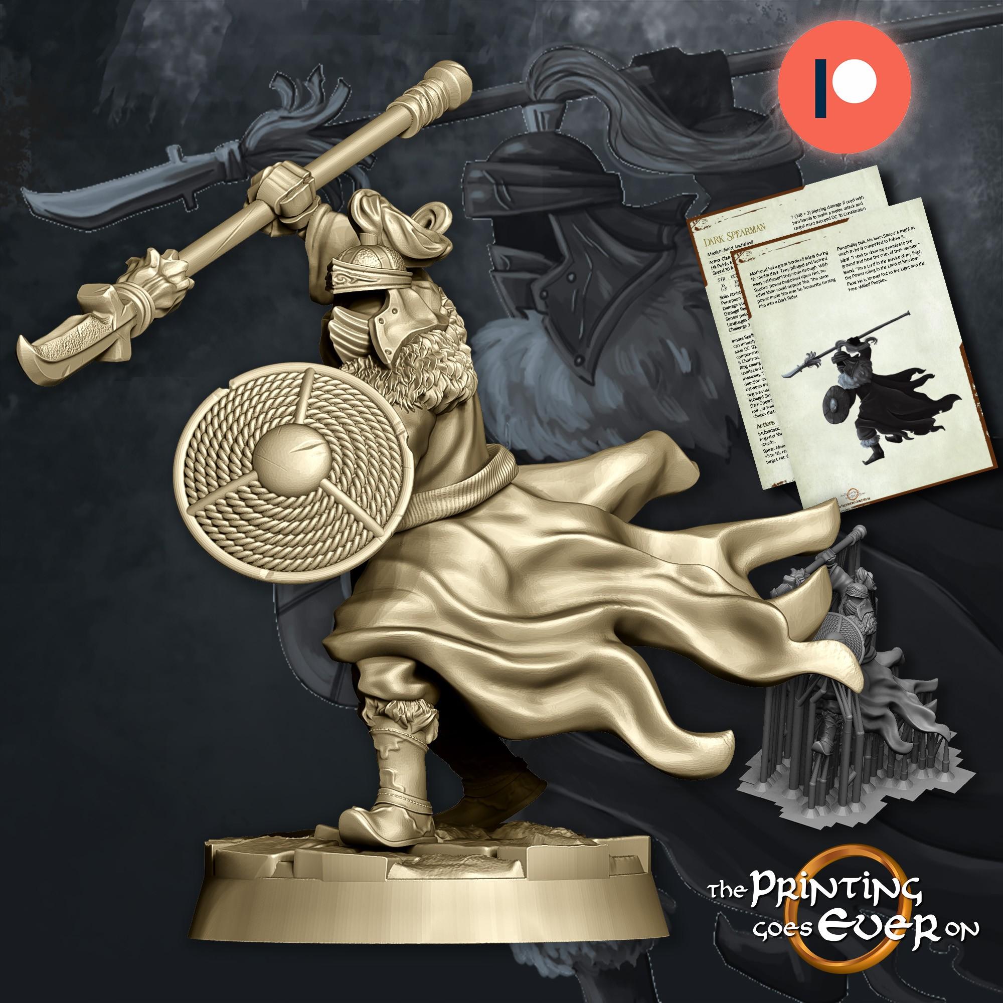 Dark Spearman