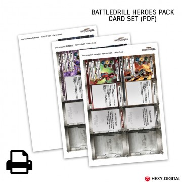 Heroes Pack Card Set