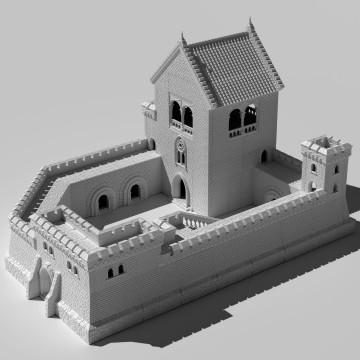 Kemots Castle - printable modular castle