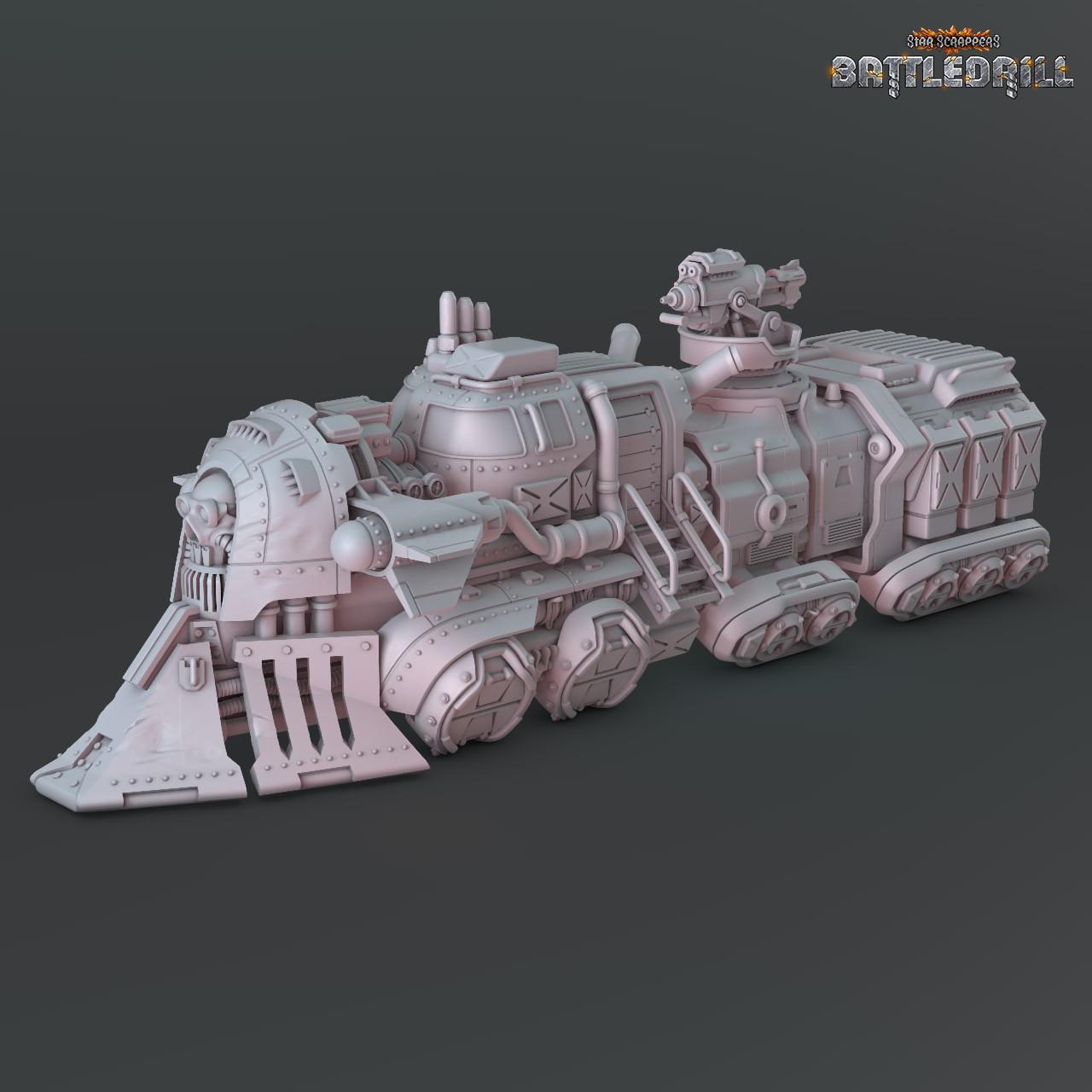 Hexis Heist - Train STL