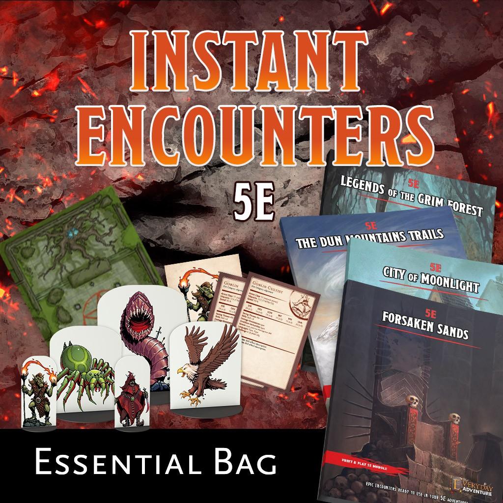 Instant Encounters - Essential Bag KS Late Pledge