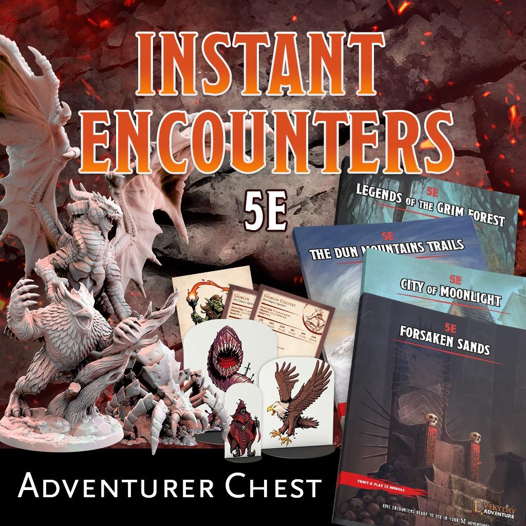 Instant Encounters - Adventurer Chest KS Late Pledge