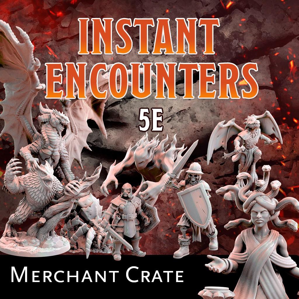 Instant Encounters - Merchant Crate KS Late Pledge