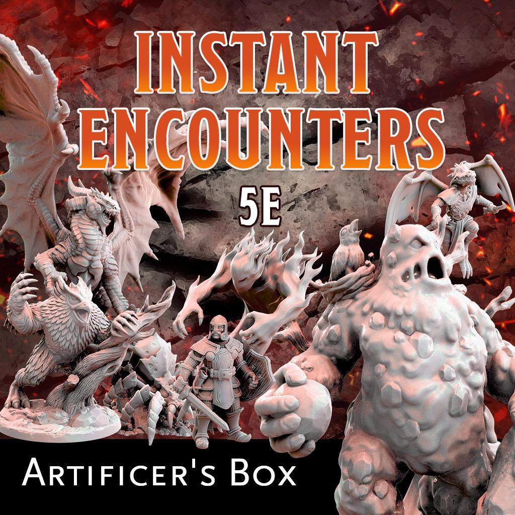 Instant Encounters - Artificer's Box KS Late Pledge