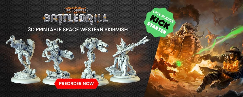Space Western Skirmish