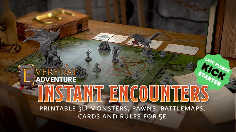 Everyday Adventure: Instant Encounters Late Pledge