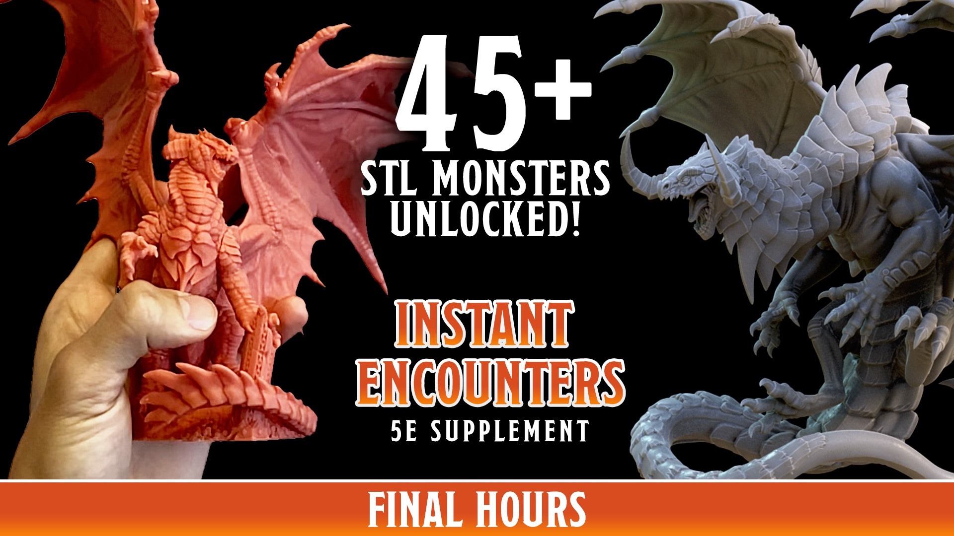 Instant Encounters - Pre-Supported Beasts & Monsters