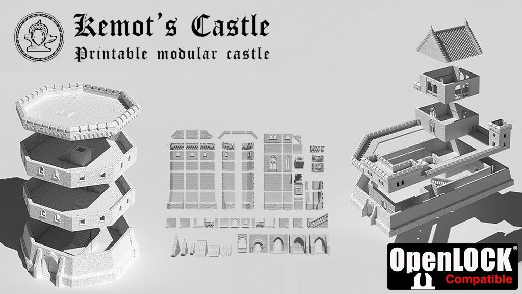 Modular Kemot's Castle - Modular medieval castle
