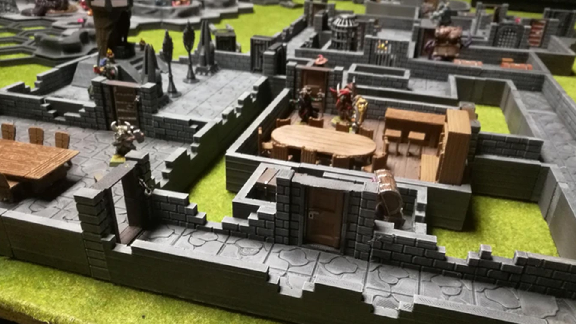 3D DungeonRooms and HexCave STL files